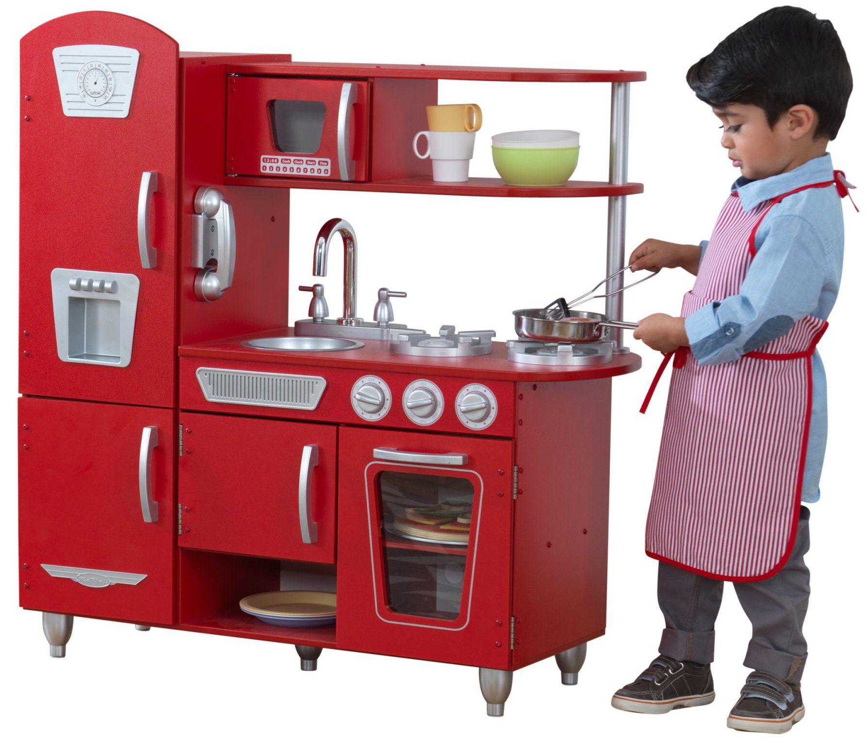 Duza Drewniana Kuchnia Dla Dzieci Kidkraft Vintage Czerwona Brykacze Pl Internetowy Sklep Z Zabawkami Dla Dzieci Play Kitchen Wooden Play Kitchen Childrens Play Kitchen