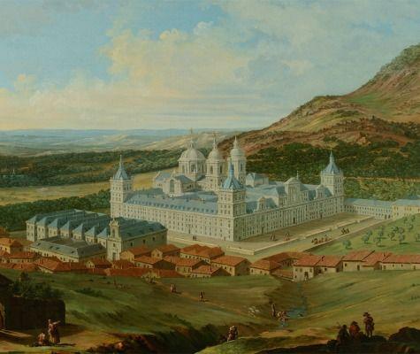 Vista del Real Sitio de El Escorial