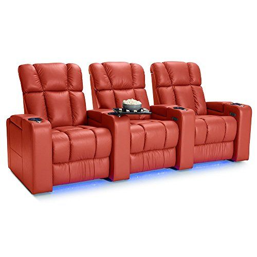 Palliser Collingwood Leather Home Theater Seating Power