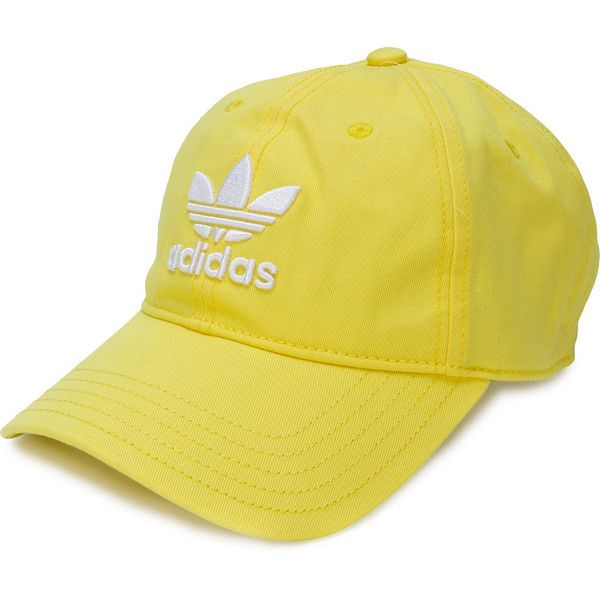9b7896183ba Adidas Adidas Originals Trefoil cap ( 36) ❤ liked on Polyvore featuring  accessories