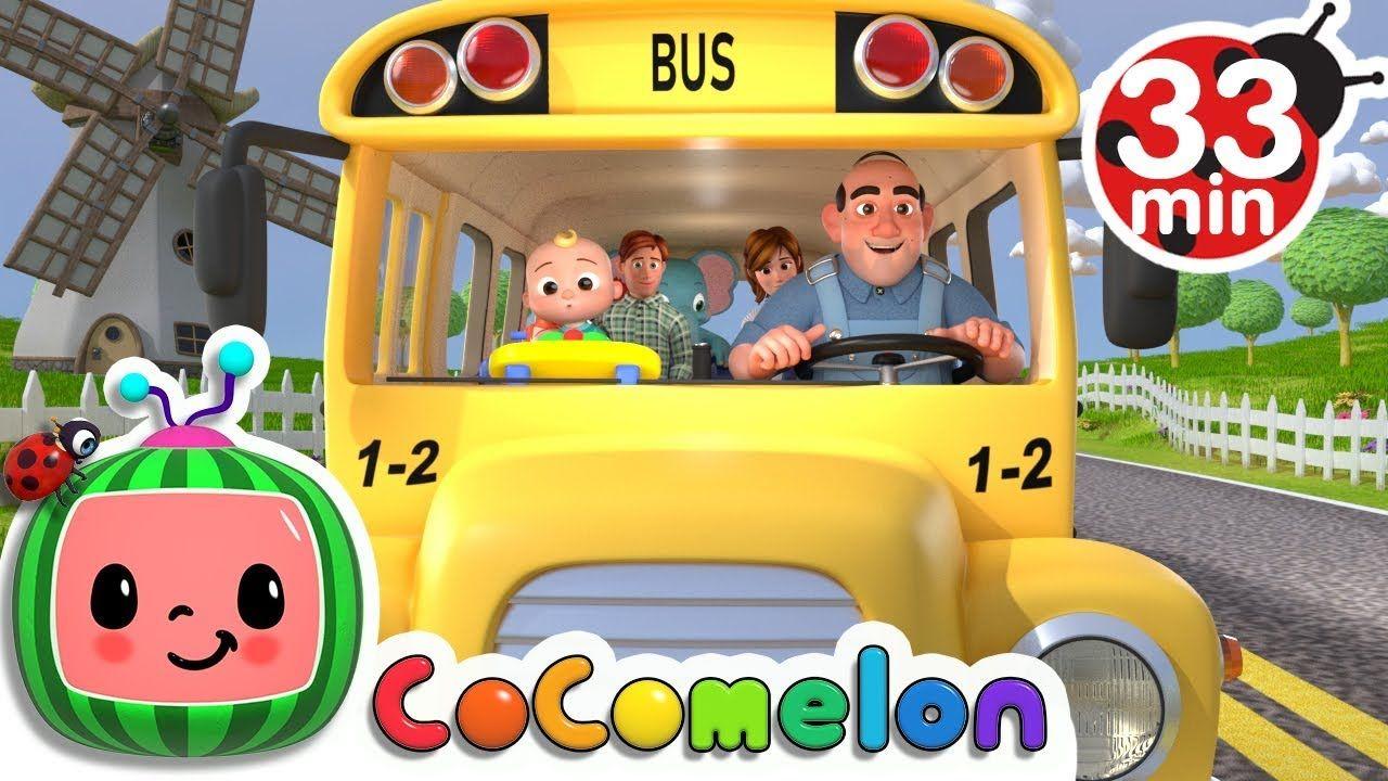 Wheels On The Bus More Nursery Rhymes Kids Songs Cocomelon