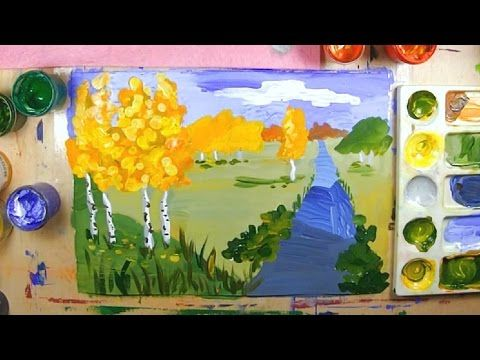 Урок рисования для детей от 7 лет голубева э.л