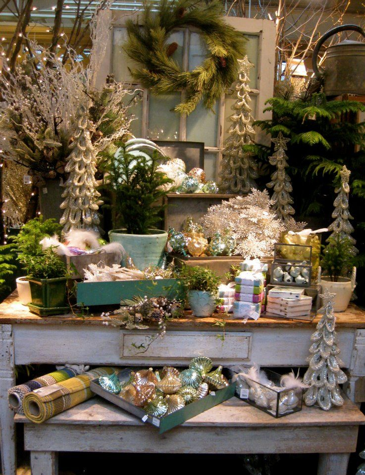 Add a little glitter to your holiday decor. (Nov 2011