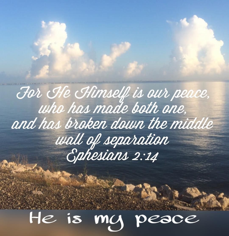 #attributesoftheLord #heismypeace #morningpraise #verseoftheday