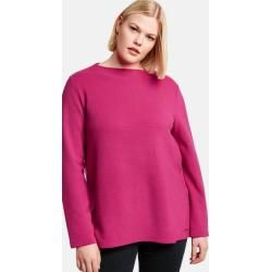 Photo of Long-sleeved shirt with rib structure Pink Gerry Weber