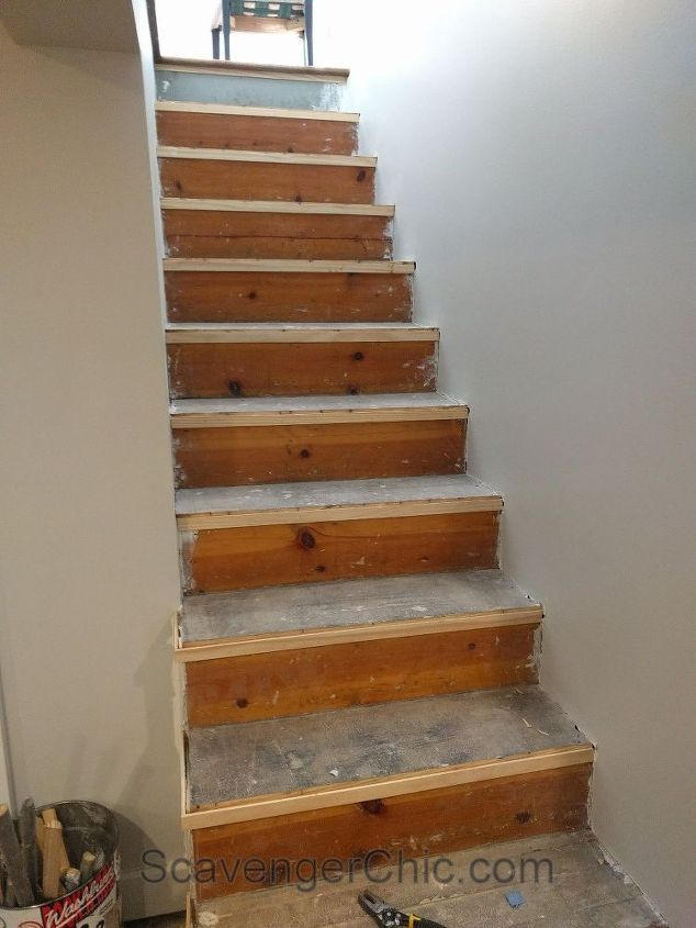 Best Weekend Project – Installing New Stair Treads Stair 400 x 300