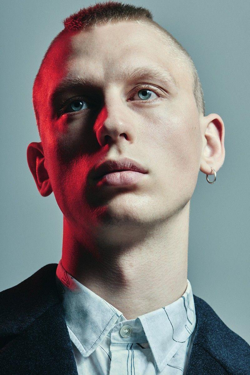 L Homme Rouge S Fw16 Campaign Is All About Scandinavian Elegance Portrait Face Photo Portrait Poses