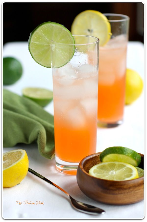 Summer Drink: The Collinzano ~ Bet it would taste good with Vodka in ...