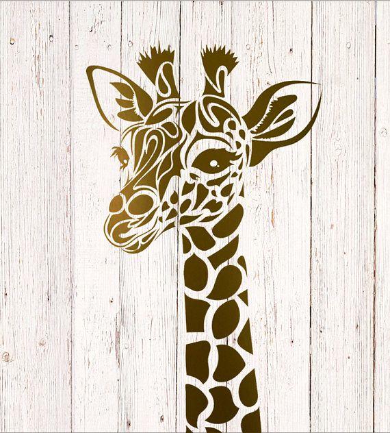 Giraffe Decal Giraffe Stickers Custom Monogram Decals Car Giraffe Decal Custom Monogram Decal Car Monogram Decal