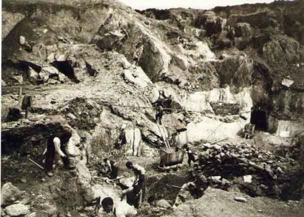 La fiebre del Wolfram  : Las minas de Fontao (Vila de Cruces)
