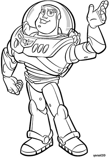 9 Loisirs Coloriage Buzz Photograph | Coloriage toy story