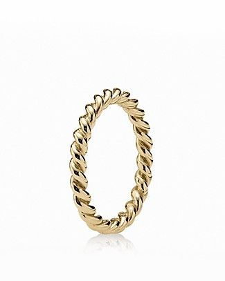 c67178a2f PANDORA Ring - 14K Gold Intertwined | Bloomingdale's | Jewels in ...