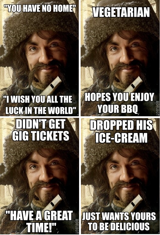 This is precisely why I love Bofur.