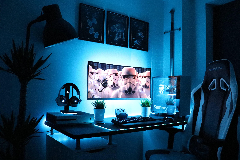 Beautiful stormtrooper setup by sammyreddit click for