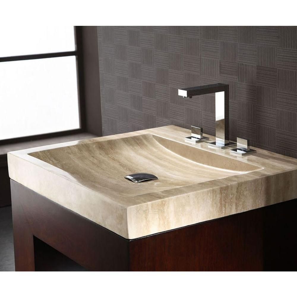 Ryvyr 24 1 8 In Turkish Travertine Vanity Top In Beige With Beige