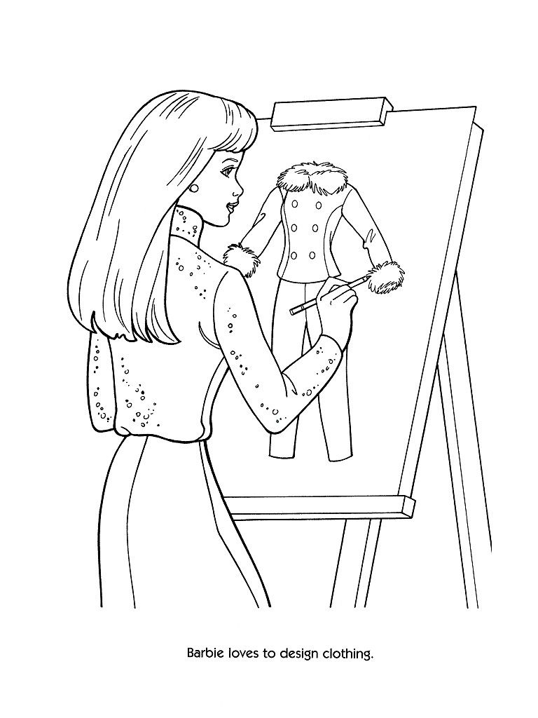 Free Toy Story Barbie Printable Coloring Pages, Download Free Clip ... | 1024x768