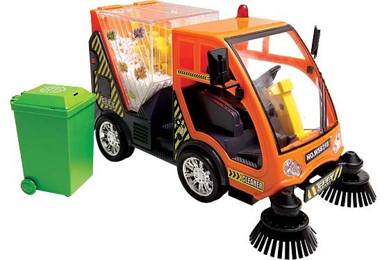 For The Truckobsessed Child The City Cleaner Is A Pretty Accurate - Nyc street sweeping map