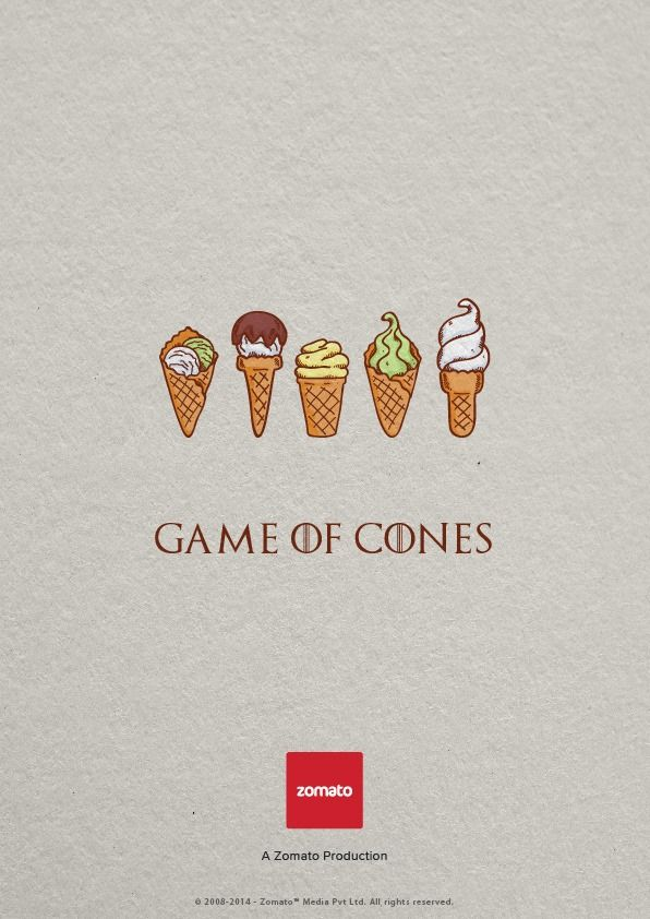 Zomatos brilliant ad campaign targeting tv series lovers ads game of thrones zomato smart ad stopboris Image collections