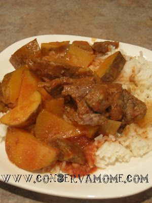 Carne Con Papas (Cuban Beef Stew) recipe #carneconpapas Carne Con Papas (Cuban Beef Stew) recipe: This delicious and easy Carne con Papas recipe is a favorite in our home. A traditional Cuban Beef Stew that will be a welcome addition to any recipe book. By now you can probably tell two things about my cooking 1. I love cooking Cuban Food & 2 I love using the crock pot. This recipe is no exception! Great for a cold winters day or can be the perfect fix-it and forget it meal. Carne con Papas is a #carneconpapas