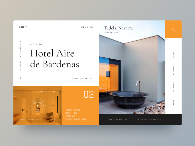 Typography UI — Project 23   YS BRAND   Pinterest 13b626fdf9