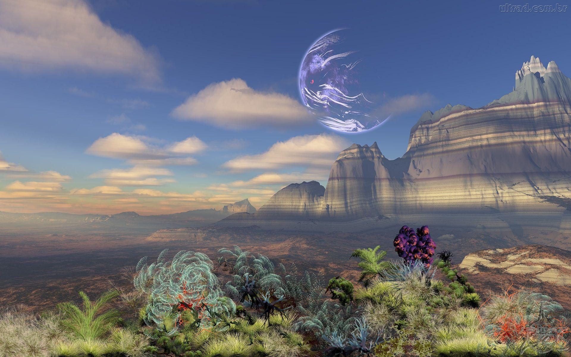 paisagem fantasia - Pesquisa Google