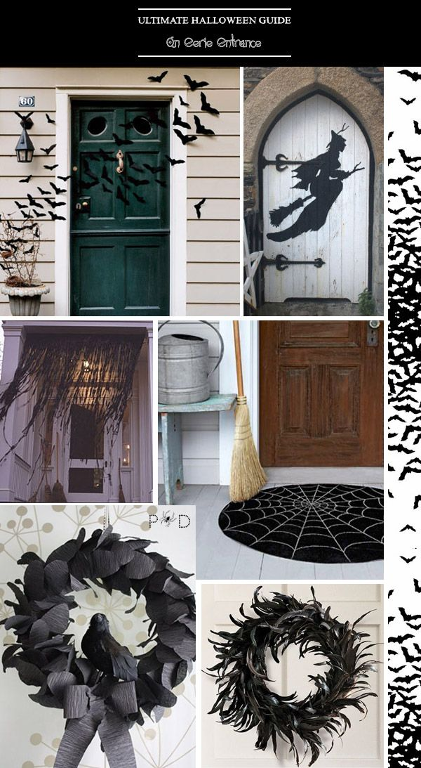 Ultimate halloween guide stylish ways to decorate your for Ways to decorate your house for halloween