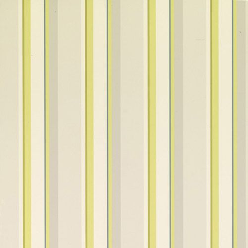 Laura Ashley Eaton Stripe Olive Wallpaper