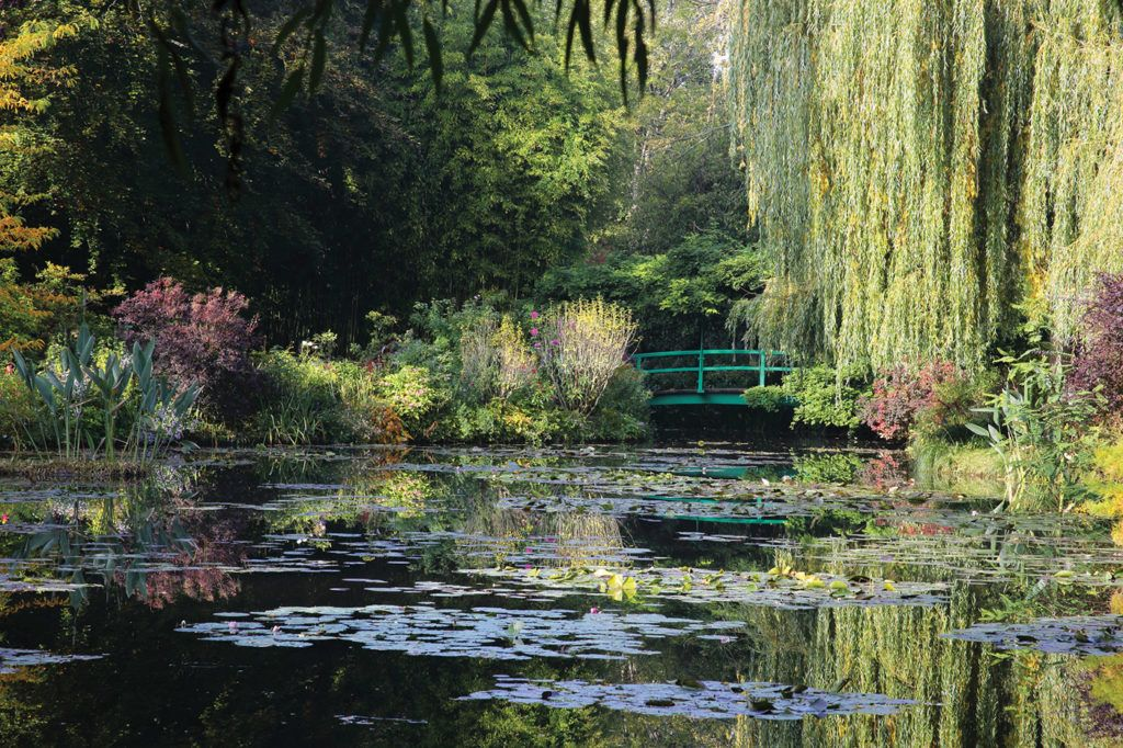 Monet at Giverny: In a Garden, In a Studio