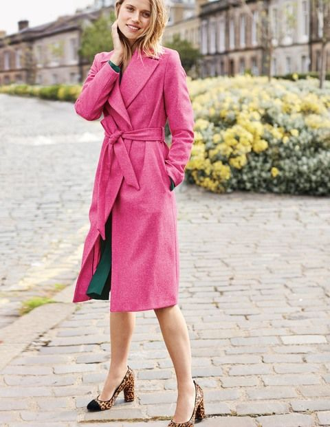 e492005f This longline coat is made in Britain, with tweed sourced from the ...