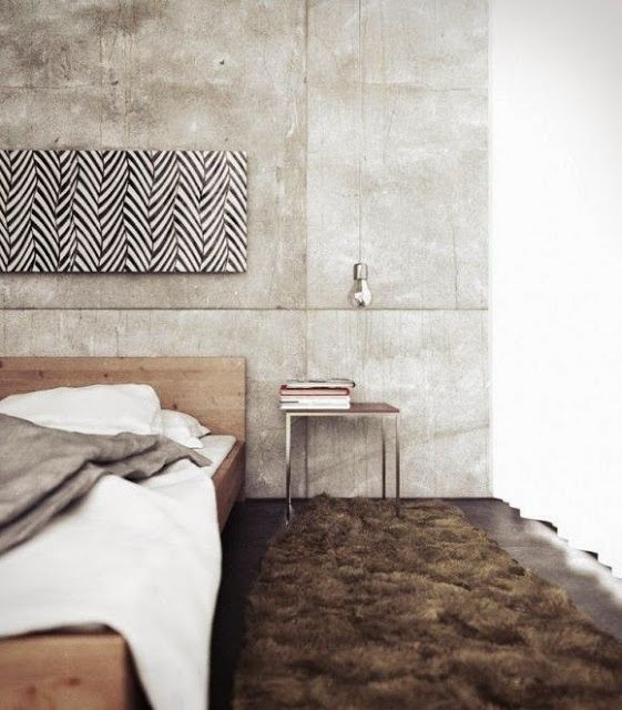 Did You Know Concrete Could Look This Good It S Gorgeous Elegant Master Bedroom Master Bedrooms Decor Concrete Bedroom