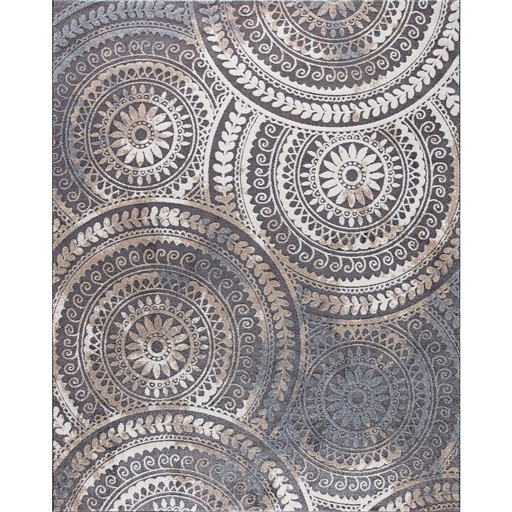 Home Decorators Collection Spiral Medallion Cool Gray 8 Ft X 10 Ft Tones Area Rug 25367 The Home Depot In 2020 Home Decorators Collection Area Rugs Geometric Area Rug