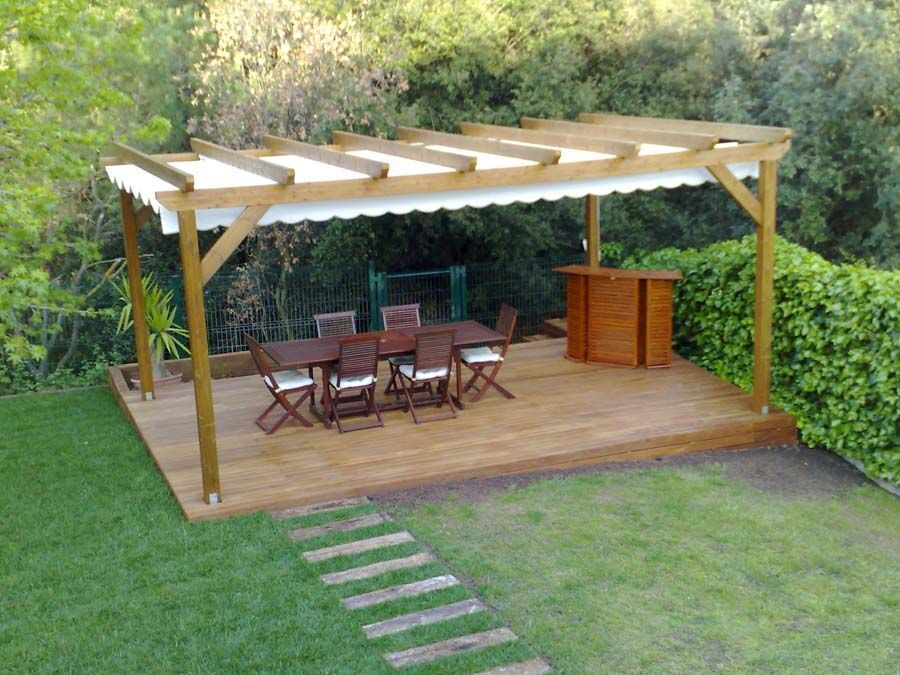 Pin by Gillian lie-a-fat on Outdoor Room Pinterest Pergolas - pergolas de madera