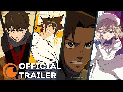 (5) Crunchyroll Originals OFFICIAL TRAILER YouTube in