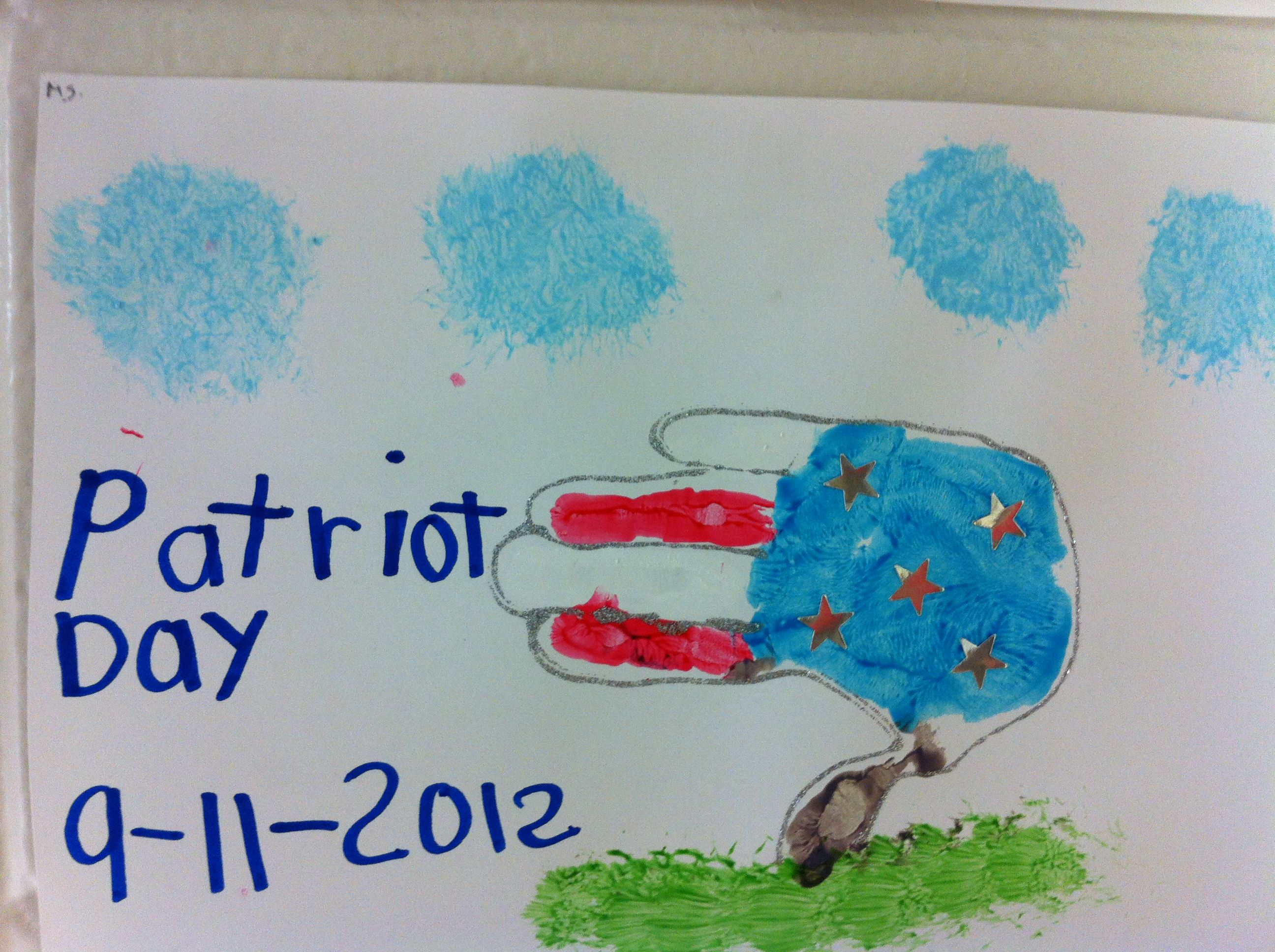 9 11 Patriot Day Craft I Did With My Students