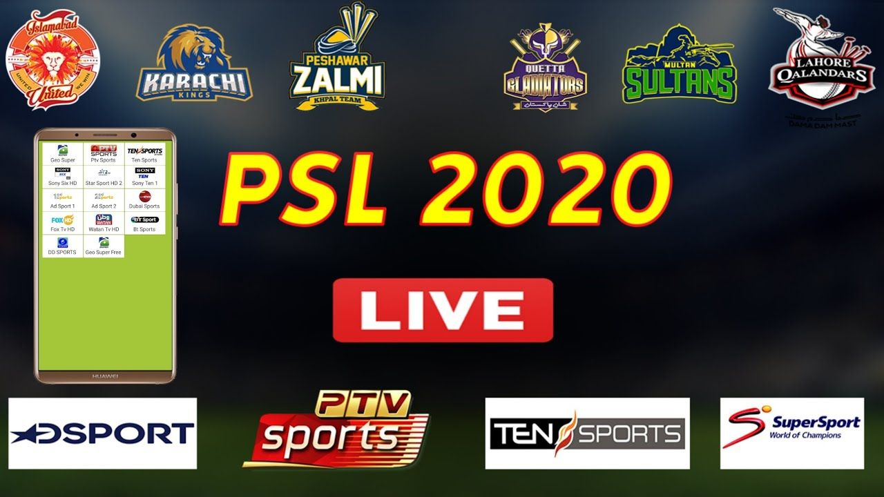 PSL Live Best Sports Streaming App For Android 2020