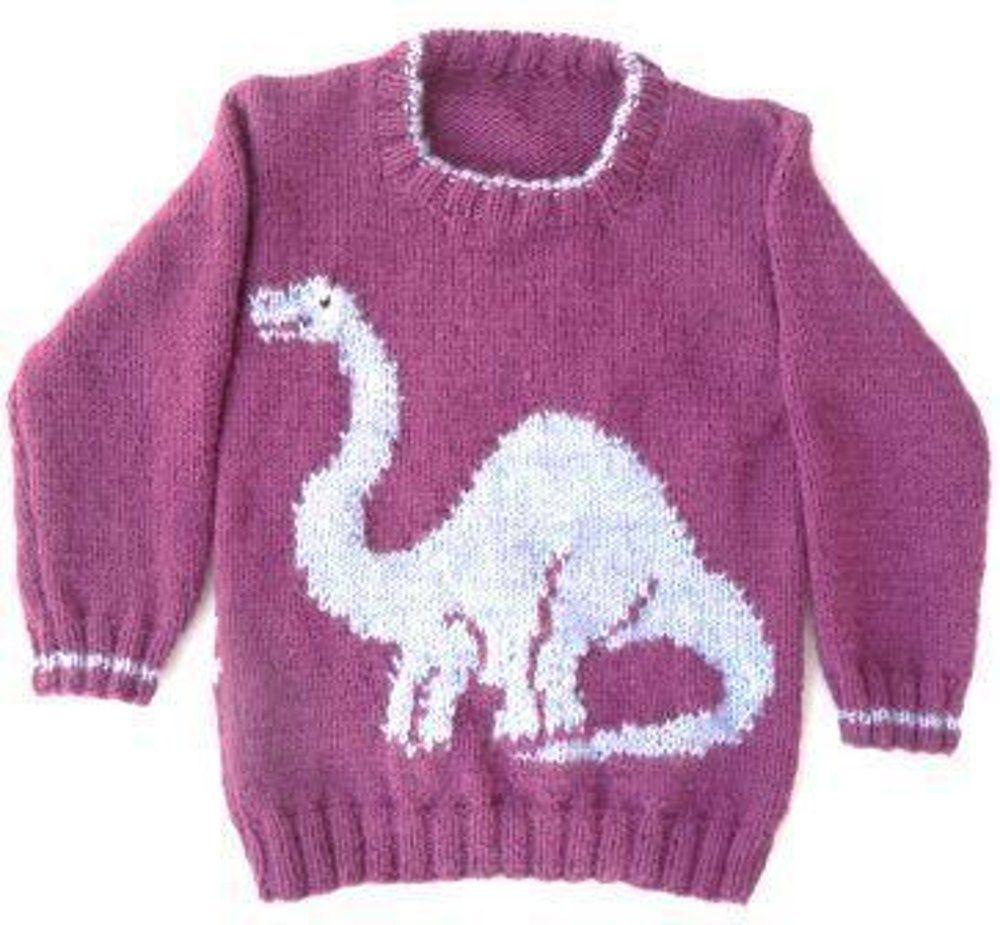 Dinosaur Sweater - Apatosaurus
