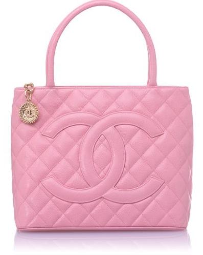 1a528fe1f Pink Tote Bag from Chanel | Bolsas | 가방, 스카 e 핑크