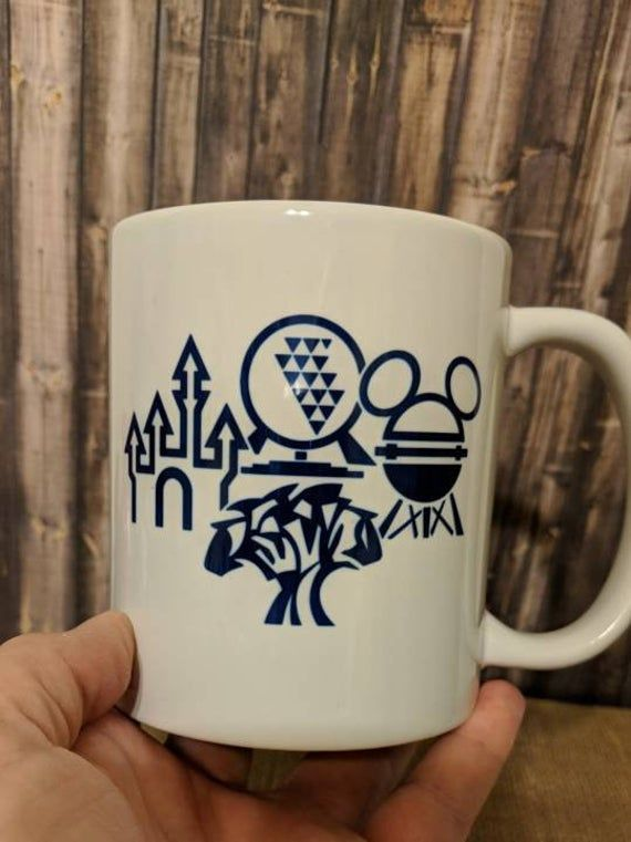 Disney Mug, Theme Park Mug, Sayings Mug, Personalized Disney Mug, My Favorite Place with My Favorite People Mug
