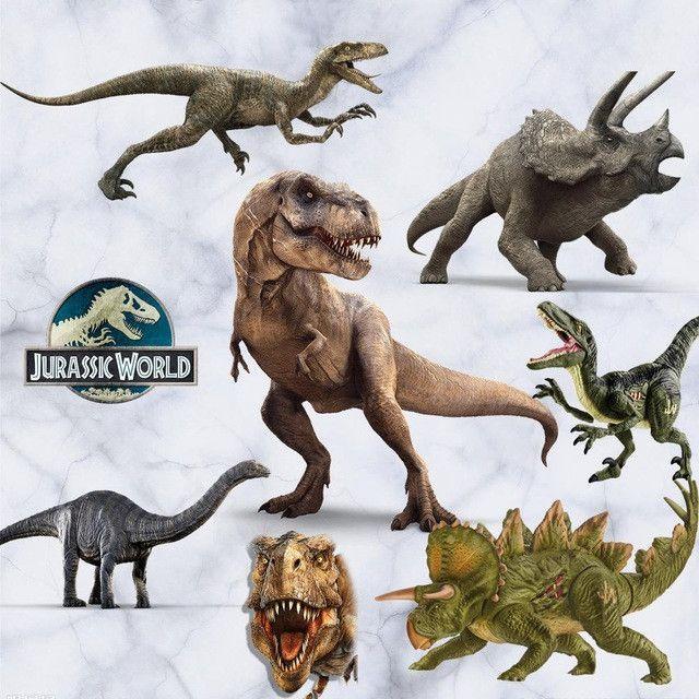 3d Jurassic World Kid S Room Wall Stickers Christmas