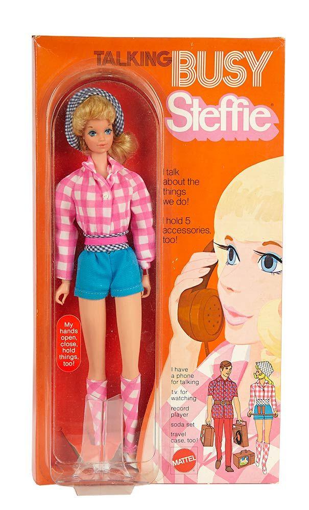 """Mattel, Inc (USA) — Blonde """"Talking Busy Steffie"""", 1971 ..."""