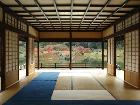 'Interior of Tea House at Ritsurin Park' Photographic Print - Seong Joon Cho | Art.com