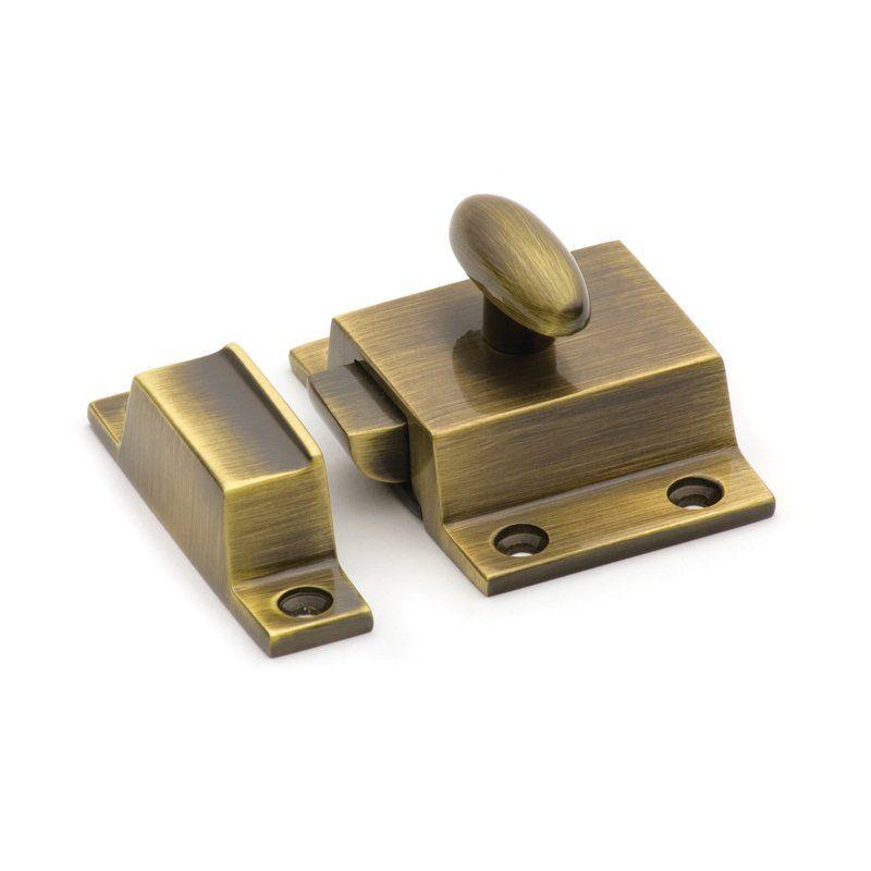 Cliffside Industries Sbcl Cupboard Latch Cabinet Latch Antique Brass Unique Hardware