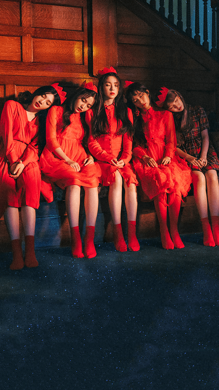 레드벨벳 웬디 & 단체 피카부 티저 폰 배경화면 & 잠금화면