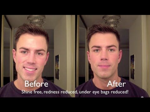 dbcd66f9614 Natural Looking Makeup for Men: Bonus Video! - YouTube | Male Make ...