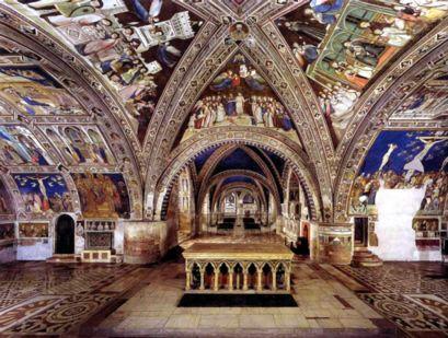 basilica inferiore assisi