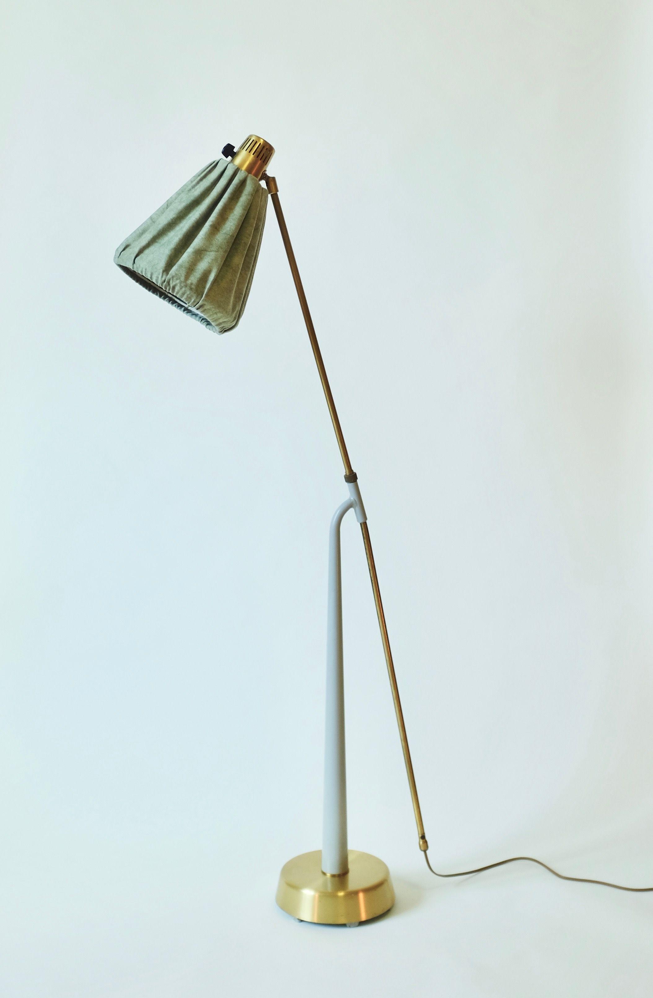 1940 S Floor Lamp By Hans Bergstrom In 2020 Lamp Floor Lamp Fabric Lampshade
