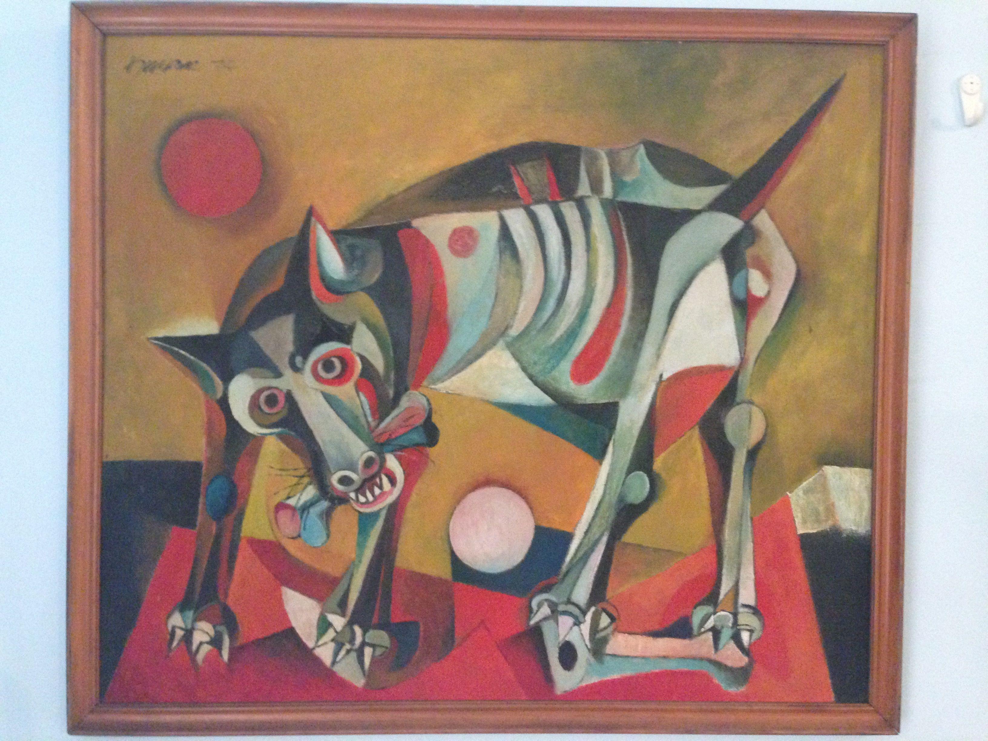 Ang Kiukok 1974 Dog Philippine art