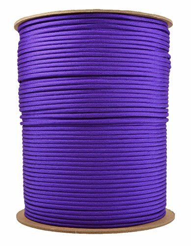 BoredParacord Brand Paracord 1000 ft Spool  Acid Purple -- Read more  at the image link.Note:It is affiliate link to Amazon.