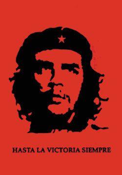 Che Guevara Red Self Portrait Flag Poster Banner Lpg 50030 La Victoria Tapestry Poster