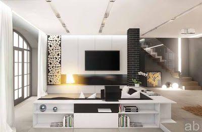 design-ruang-tamu-modern (dengan gambar) | desain interior